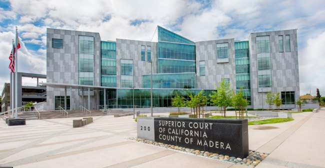 Madera County Main Courthouse Traffic Court