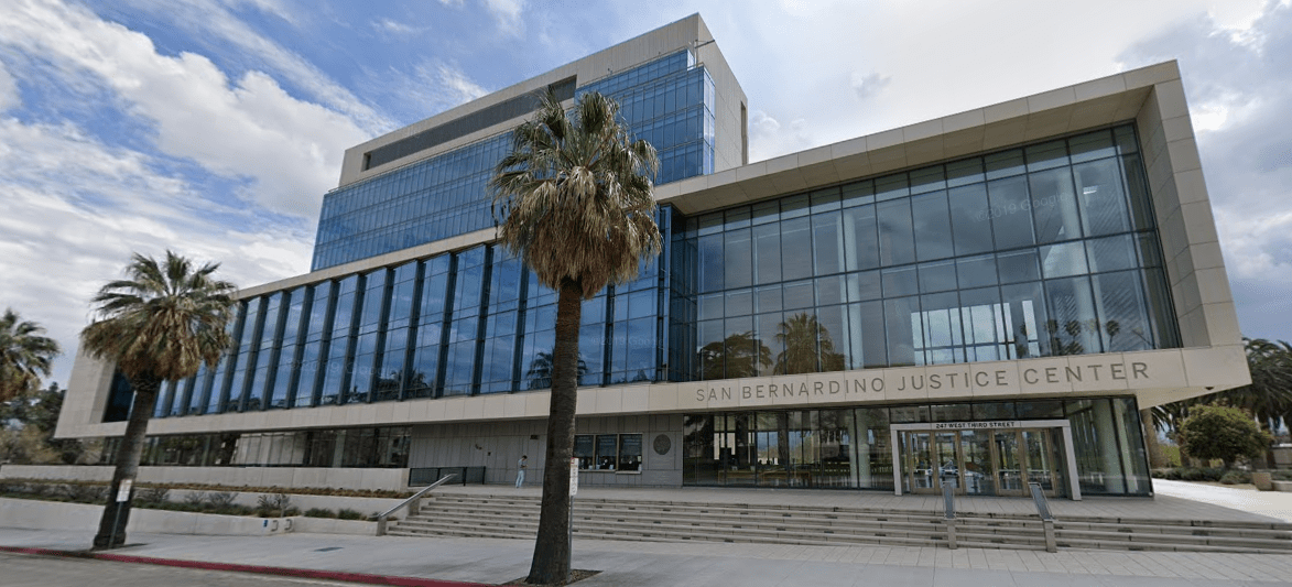 San Bernardino county Justice Center